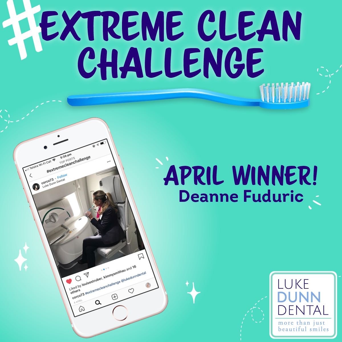 Deanne Fuduric Extreme Clean Challenge May Winner