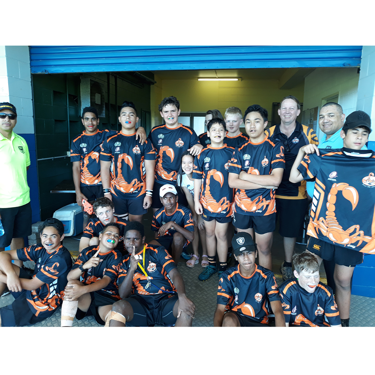 The Great Mouthguard Giveaway 2018 - Central Scorpions U14 Rugby league Winners